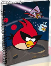 Libreta A5 Angry Birds Space