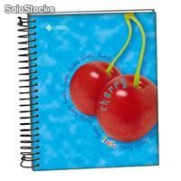 Libreta de apuntes fruits mini