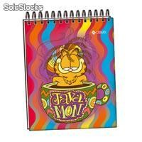 Libreta de apuntes garfield pocket