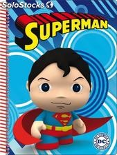 Libreta Little Mates Superman