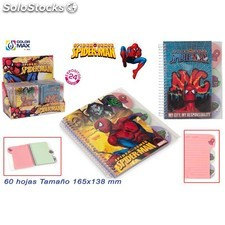 Libreta spiderman 8660