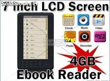 Libro Electronico eBook Reader Multimedia 4gb RockChip