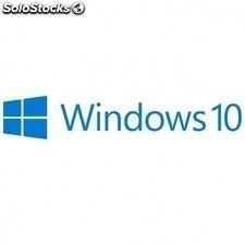 Licencia WINDOWS 10 pro - 32bits - español - dsp - 1PC