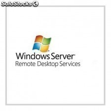 Licencia WINDOWS terminal server 2012 winrmtdsktpsrvcscal 2012 sngl olp nl dvcca