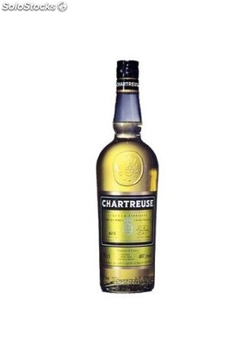 Licor Chartreuse Amarillo 100 cl