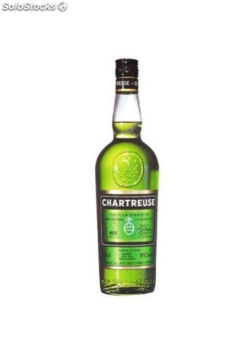 Licor Chartreuse Verde 70 cl
