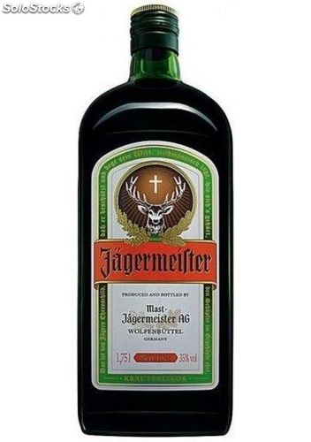 Licor Jagermeister 1,75L