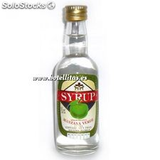 Licor manzana verde Syrup sin alcohol 5 cl