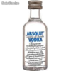 Licor Miniatura Vodka Absolut