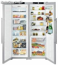 Liebherr sbses 7263 side by side nf biofresh icemaker a+