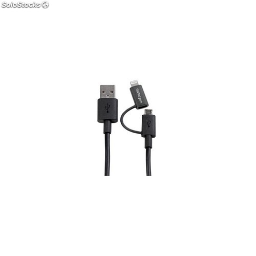 Lightning or micro usb to usb
