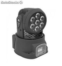 Lightside mini cabeza movil led wash 7X10W