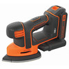 lijadora detalle mouse 18v bdcds18-qw black and decker