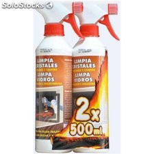 Limpiacristales Antiollin 500Ml.Promo Lote 2 Uds.24512-12