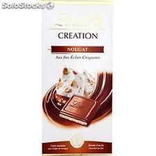Lindt creation lait NOUGAT150G