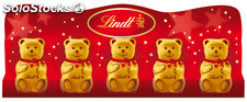 Lindt mini ours 5X10G 50G