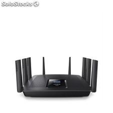 Linksys - AC5400 Tribanda (2,4 GHz/5 GHz/5 GHz) Gigabit Ethernet Negro router
