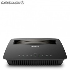 Linksys - X6200 Doble banda (2,4 GHz / 5 GHz) Gigabit Ethernet Negro router