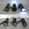 Linterna 9 leds plastico color