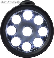 Linterna, 9 Luces Led.
