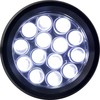 Linterna de metal con 14 luces LED