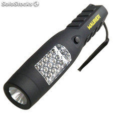 Linterna Led Recargable 8 Led mas 1 Led Frontal