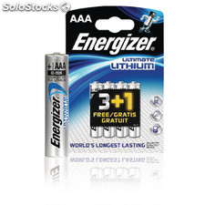 Lithium Battery Aaa 1.5 V Ultimate 4-promotional Blister