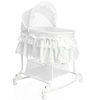 Little World Cuna mecedora 2 en 1 85x70x110 cm blanca LWFU002-WH