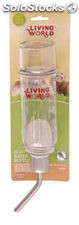 Living world eco bebedero + botella 355 ml.