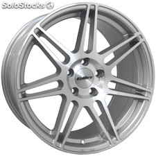 "Llanta Calibre CC-R 8x18"" Hypersilver Polished Face 5x112 ET45"
