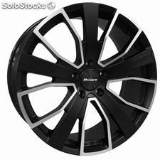 "Llanta Calibre Kensington 9.5x20"" Matt black/polished face 5x120 ET40"