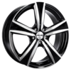 Llanta gmp argon /bp 7,5X17 Et35 5X112 73,1 black diamond