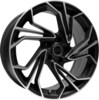 Llanta infiny DS /mbp 8X19 Et30 5X108 73,1 satin black machined face