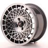 Llanta Japan Racing Jr14 15X8 Et20 4X100 Black Machined