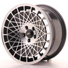 Llanta Japan Racing Jr14 16X8 Et25 4X100 Black Machined