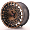 Llanta Japan Racing Jr14 16X8 Et25 4X100 Blackbronzfinish