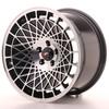 Llanta Japan Racing Jr14 16X9 Et10 4X100 Black Machined