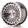 Llanta Japan Racing Jr14 17X8,5 Et15 4X100 Black Machined