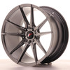 Llanta Japan Racing Jr21 18X9,5 Et35 5X100/120 Hiper Blac