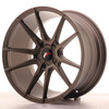 Llanta Japan Racing Jr21 18X9,5 Et40 5H Blank Matt Bronze
