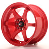 Llanta Japan Racing Jr3 15X8 Et25 4X100/108 Red