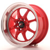 Llanta Japan Racing Tf2 15X7,5 Et10 4X100/114 Red