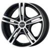 Llanta mak veloce l ice 6,5X16 Et41 5X115 70,2 matt black/ice face