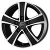 Llanta matrix fuoco 5 van ice black 6,5X16 Et45 5X120 65,1 matt black/ice face