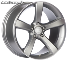 Llanta mille miglia MM1001 mapl 9X18 Et50 5X112 72,2 matt anthracite polished