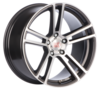 Llanta mille miglia MM1002 dap 8,5X19 Et42 5X108 72,2 dark anthracite polished