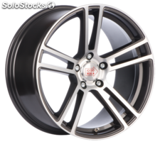 Llanta mille miglia MM1002 dap 9X18 Et37 5X120 79,5 dark anthracite polished