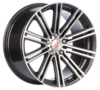 Llanta mille miglia MM1005 dap 8,5X19 Et42 5X108 72,2 dark anthracite polished