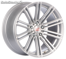 Llanta mille miglia MM1005 msp 8X18 Et30 5X120 79,5 matt silver polished