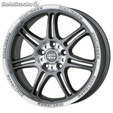 Llanta momo corse 7,5X17 ET35 5X100 anthracite matt, polished